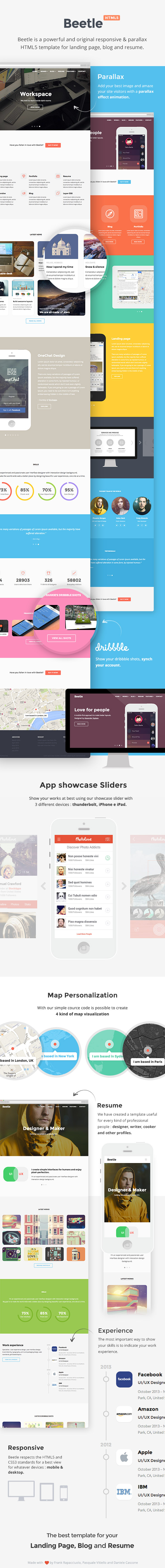 Beetle HTML template